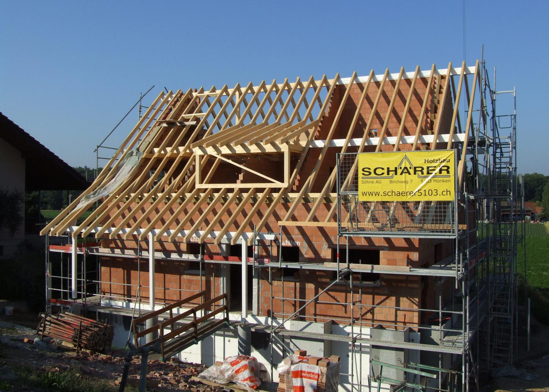 Holzbau Schärer Möriken | Umbau